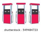 Fuel Pump. Petrol Station. Gas...