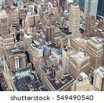 new york city   september 15 ... | Shutterstock . vector #549490540