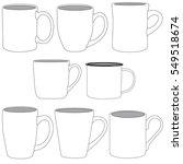 vector illustration of various... | Shutterstock .eps vector #549518674
