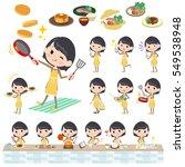set of various poses of school...   Shutterstock .eps vector #549538948