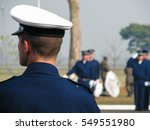 military training for a ceremony