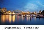 Sydney City Skyline At Night...