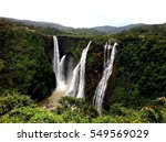 jog falls located in india | Shutterstock . vector #549569029