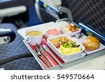 food served on board of economy ...   Shutterstock . vector #549570664