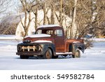 Rusted Vintage 1950s Truck In ...