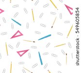 vector seamless patten of... | Shutterstock .eps vector #549605854