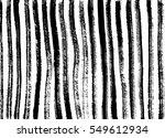 Ink Stripes Texture. Zebra...