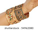 Indian Bangle - stock photo