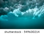 turbulence air bubbles effect... | Shutterstock . vector #549630214