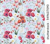 gentle blue background | Shutterstock . vector #549637090