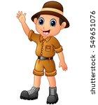 vector illustration of cartoon... | Shutterstock .eps vector #549651076