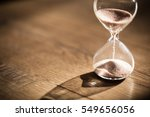 Hourglass As Time Passing...