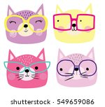 cute cats | Shutterstock .eps vector #549659086