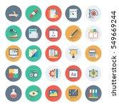 web design and development... | Shutterstock .eps vector #549669244