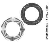 monochrome icon with springs | Shutterstock .eps vector #549677584