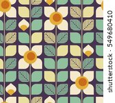 seamless geometric retro... | Shutterstock .eps vector #549680410