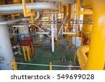 oil platform pipeline and...   Shutterstock . vector #549699028