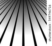 3d vanishing  converging lines. ... | Shutterstock .eps vector #549746716