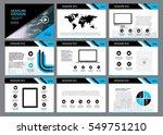 multipurpose template for... | Shutterstock .eps vector #549751210
