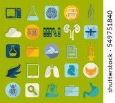 set of veterinary flat icons   Shutterstock .eps vector #549751840