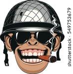 vector illustration of funny... | Shutterstock .eps vector #549753679