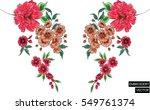 Stock vector embroidery design 549761374