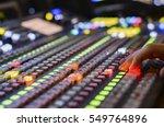 video mixer use   Shutterstock . vector #549764896