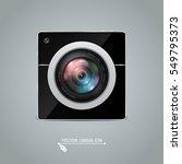 photo camera icon. camera photo ... | Shutterstock .eps vector #549795373