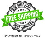 free shipping. stamp. sticker.... | Shutterstock .eps vector #549797419