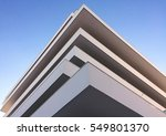 modern building. modern office... | Shutterstock . vector #549801370