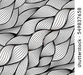 vector seamless thread pattern. ... | Shutterstock .eps vector #549837658