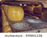 Traditional Wooden Cheese...