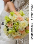 bridal bouquet | Shutterstock . vector #549844930