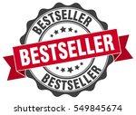 bestseller. stamp. sticker.... | Shutterstock .eps vector #549845674