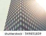 high contrasted skyscraper with ... | Shutterstock . vector #549851839