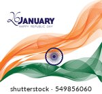 republic day india | Shutterstock .eps vector #549856060