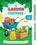 Garden Festival Colorful Poster ...
