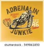motorcycle. motorcross. off...   Shutterstock .eps vector #549861850
