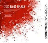 Big Realistic Blood Splash...