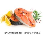 Two Slices Trout Fillet With...