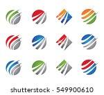 faster logo template vector... | Shutterstock .eps vector #549900610