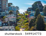 Famous Lombard Street  San...