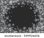 glittering snow blizzard effect ... | Shutterstock .eps vector #549926656