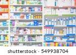 counter store table pharmacy... | Shutterstock . vector #549938704