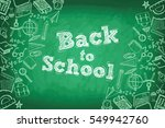 back to school | Shutterstock .eps vector #549942760