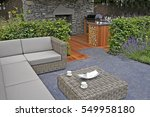 a lifestyle garden design... | Shutterstock . vector #549958180