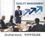 assurance quality standard... | Shutterstock . vector #549958288