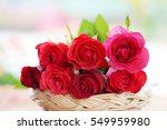 closeup of a bouquet of red... | Shutterstock . vector #549959980