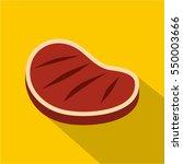 tenderloin beef steak icon.... | Shutterstock .eps vector #550003666