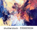 bright color fireworks.... | Shutterstock . vector #550005034
